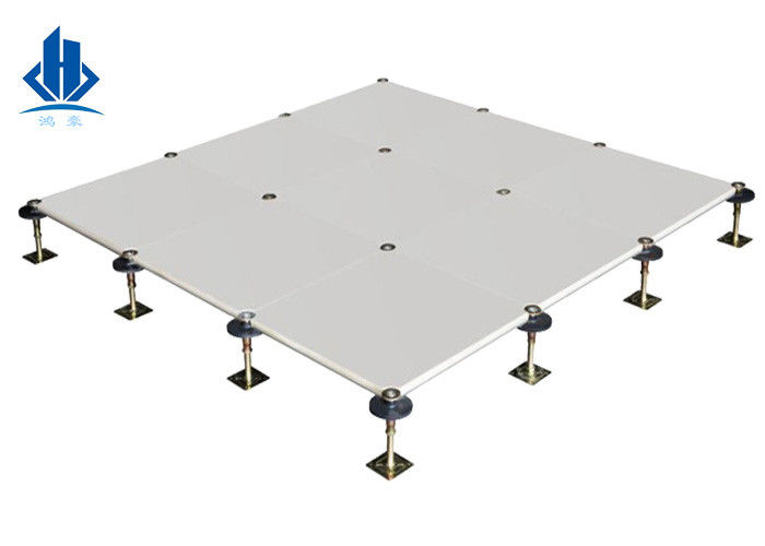 Outdoor Fireproof GRC Raised Concrete Floor Systems 500*500mm Heavy Load Capacity