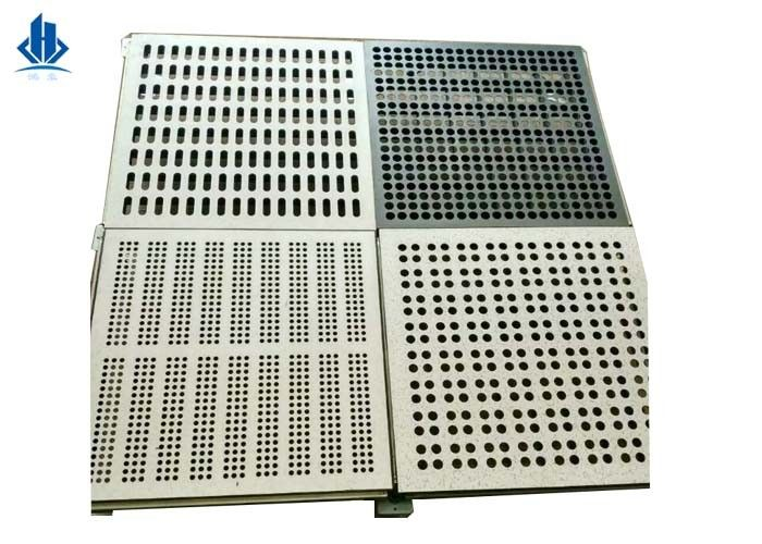Air Flow Perforated Raised Floor Tiles For Computer And Server Rooms